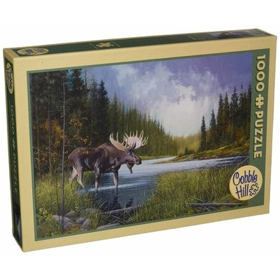 Cobble Hill Puzzles Cobble Hill Puzzle 1000pc Moose Lake