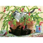 Cobble Hill Puzzles Cobble Hill  Puzzle 1000pc Cactus Kitties