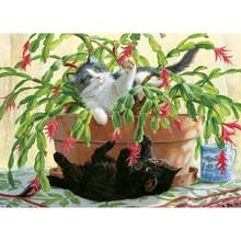 Cobble Hill Puzzles Cobble Hill  Puzzle 1000pc Cactus Kitties