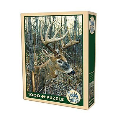 Cobble Hill Puzzles Cobble Hill Puzzle 1000pc White-Tailed Deer