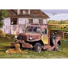 Cobble Hill Puzzles Cobble Hill Puzzle 1000pc Summer Truck