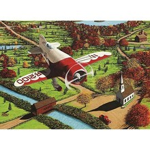 Cobble Hill Puzzles Cobble Hill Puzzle 1000pc Gee Bee Over England