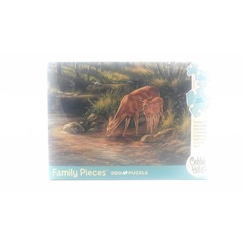 Cobble Hill Puzzles Family 350pc Deer Family