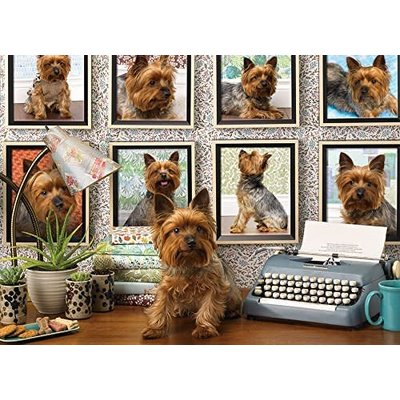 Cobble Hill Puzzles Cobble Hill Puzzle 1000pc Yorkies are my Type