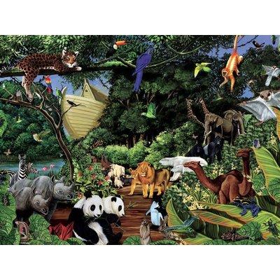 Cobble Hill Puzzles Cobble Hill Family Puzzle 350pc Noah's Gathering