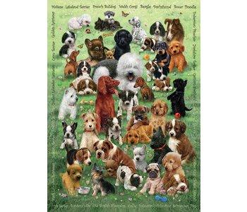 Cobble Hill Family Puzzle 350pc Puppy Love