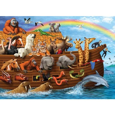 Cobble Hill Puzzles Cobble Hill Family Puzzle 350pc Voyage of the Ark