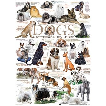 Cobble Hill Puzzles  1000pc Dog Quotes