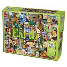 Cobble Hill Puzzles Cobble Hill Puzzle 1000pc Earth