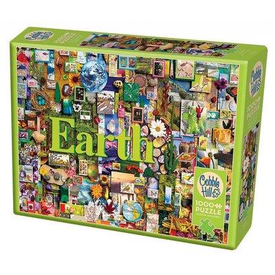 Cobble Hill Puzzles Cobble Hill Puzzle 1000pc Earth