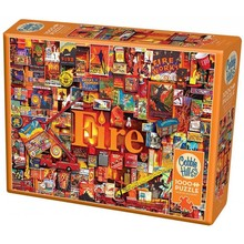 Cobble Hill Puzzles Cobble Hill Puzzle 1000pc Fire