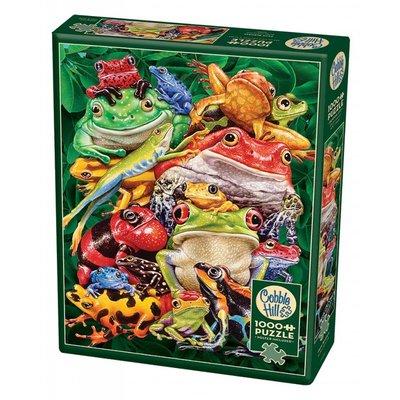 Cobble Hill Puzzles Cobble Hill Puzzle 1000pc Frog Business