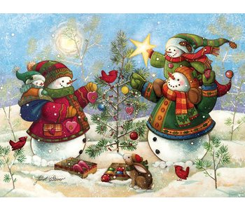 Cobble Hill Puzzle 275pc Holiday Sparkle