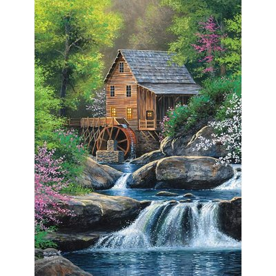 Cobble Hill Puzzles Cobble Hill Puzzle 275pc Spring Mill