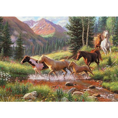 Cobble Hill Puzzles Cobble Hill Puzzle 1000pc Mountain Thunder