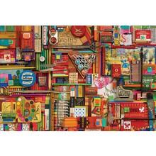 Cobble Hill Puzzles Cobble Hill Puzzle 2000pc Vintage Art Supplies