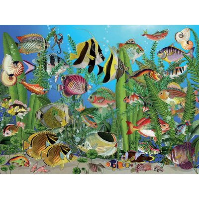 Cobble Hill Puzzles Cobble Hill Puzzle 275pc Aquarium