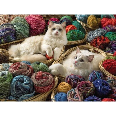 Cobble Hill Puzzles Cobble Hill Puzzle 275pc Ragdolls