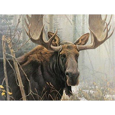 Cobble Hill Puzzles Cobble Hill Puzzle 500pc Bateman Bull Moose