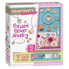 Creativity for Kids Craftivity Pressed Flower Jewelry