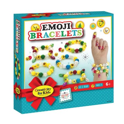 Creativity for Kids Creativity Craft Holiday Emoji Bracelets