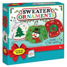 Creativity for Kids Creativity Craft Holiday Sweater Ornaments