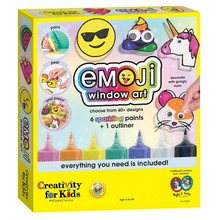 Creativity for Kids Creativity for Kids Emoji Window Paint Activity Kit