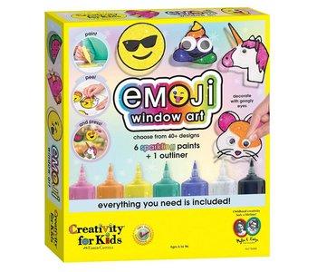 Creativity for Kids Emoji Window Paint Activity Kit