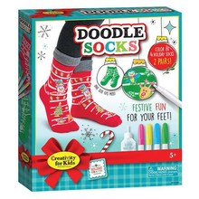Creativity for Kids Creativity for Kids Holiday Doodle Socks