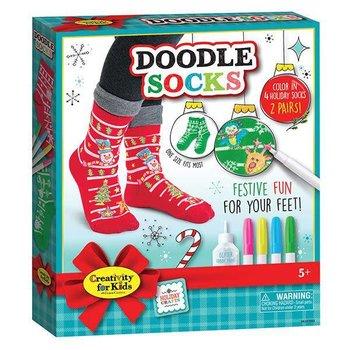 Creativity for Kids Holiday Doodle Socks