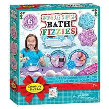 Creativity for Kids Creativity for Kids Holiday Snowflake Surprise Bath Fizzies