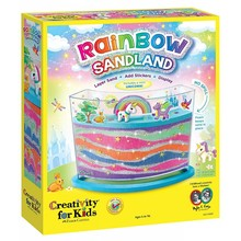 Creativity for Kids Creativity for Kids Rainbow Sandland