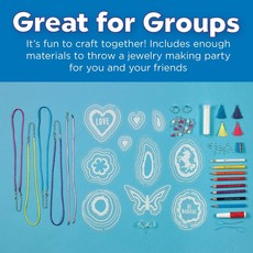 Creativity for Kids Shrink Fun Geode Jewelry