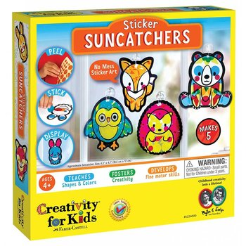 Creativity for Kids Sticker Suncatchers