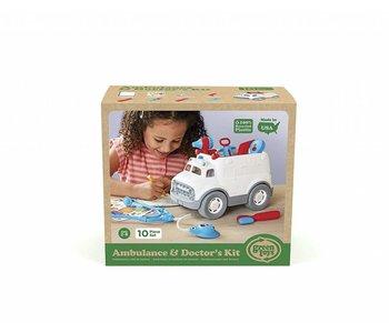 Green Toys Ambulance & Doctor's Kit