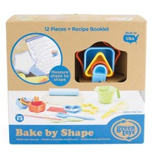 Green Toys Green Toys Bake by Shape Set