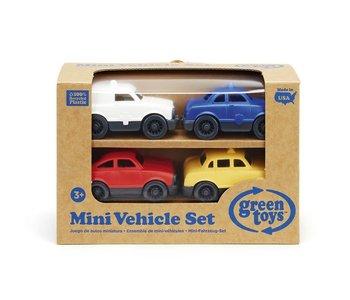 Green Toys Mini Vehicle Set 4 Pack