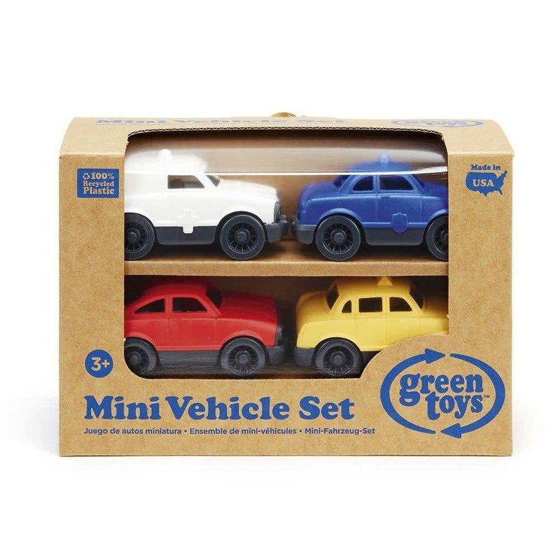 Green Toys Green Toys Mini Vehicle Set 4 Pack
