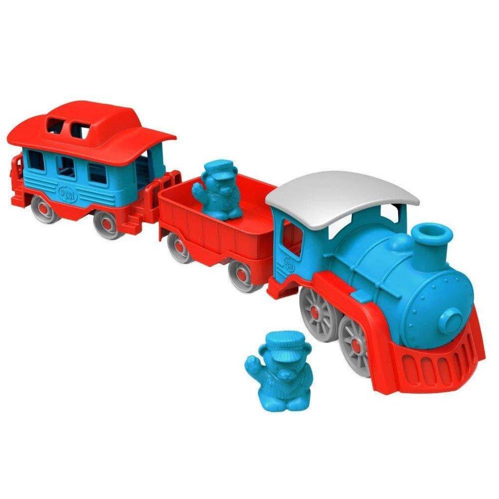 Green Toys Train Blue