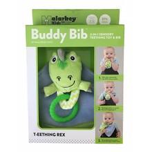 Malarkey Kids Buddy Bib T-eething Rex