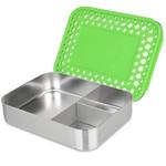 Malarkey Kids Lunchbots Trio Bento Stainless Steel