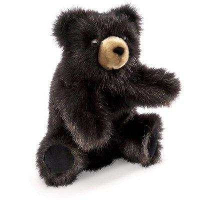 Folkmanis Folkmanis Puppet Baby Black Bear