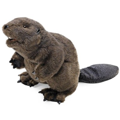 Folkmanis Folkmanis Puppet Beaver