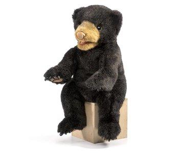 Folkmanis Puppet Black Bear Cub
