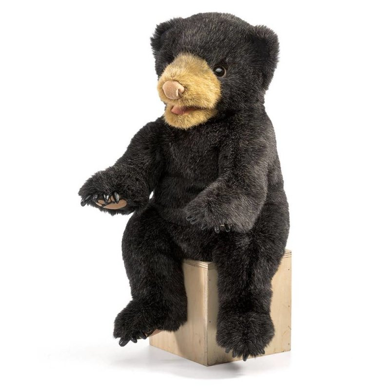 Folkmanis Folkmanis Puppet Black Bear Cub