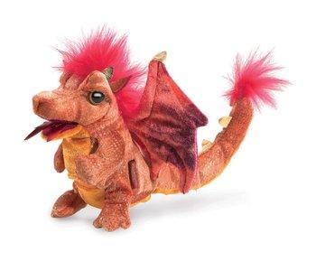 Folkmanis Puppet Fire Dragon