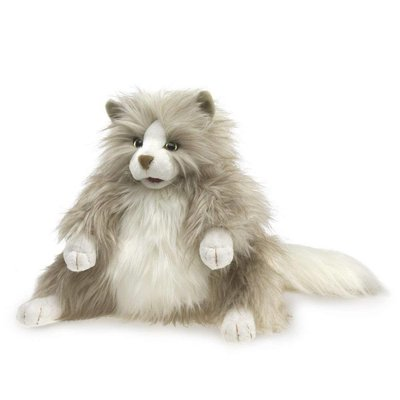 Folkmanis Folkmanis Puppet Fluffy Cat