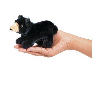 Folkmanis Puppet Mini Black Bear