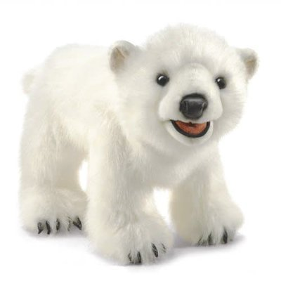 Folkmanis Folkmanis Puppet Polar Bear Cub