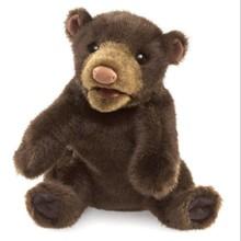 Folkmanis Folkmanis Puppet Small Black Bear